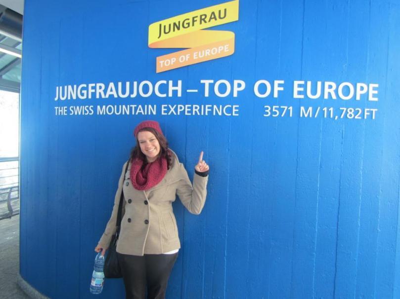 Mt Jungfraujoch!