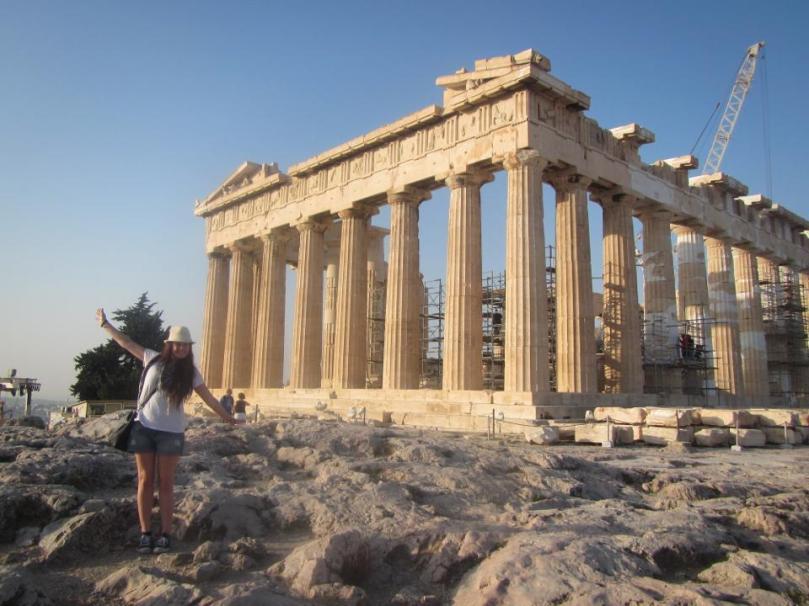 The Parthenon!