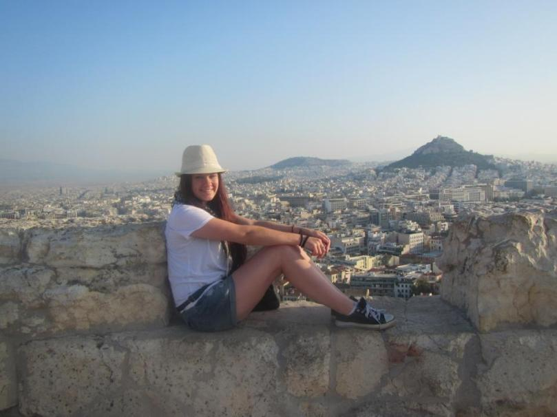Happier times in Athens