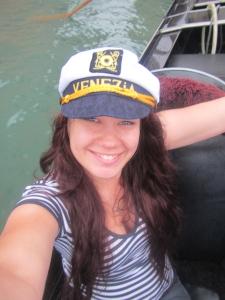 Selfie on a gondola