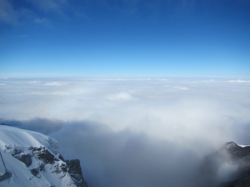 The 'Top of Europe' is a good name for Mt Jungfrau