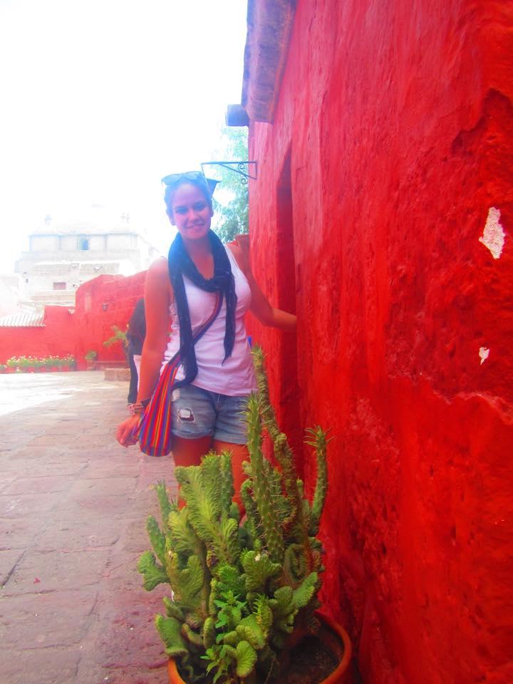 Earlier that day at the Santa Catalina Monastery