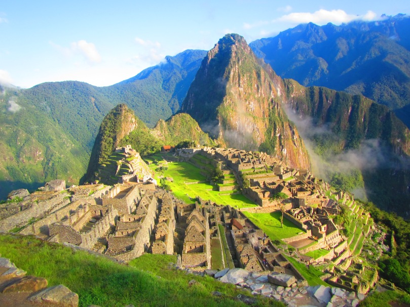 Machu Picchu by first light