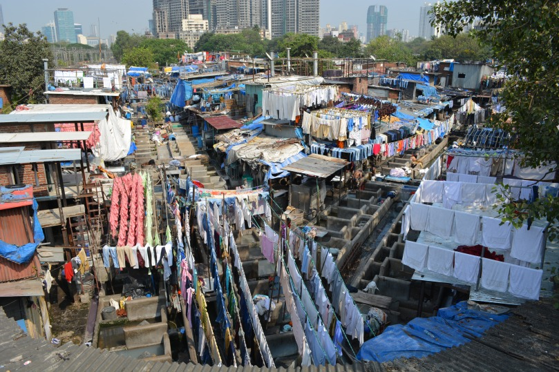 Dhobi Ghat open-air laundry, Mumbai