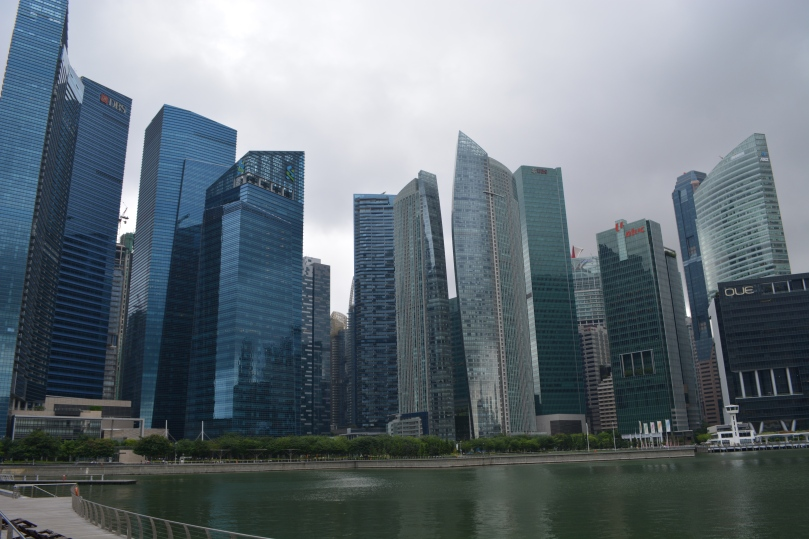 Singapore's financial district